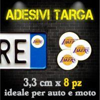 Adesivi Targa - Basket