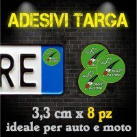 Adesivi Targa - Associazioni Culturali e Militari