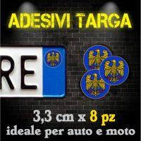 Adesivi Targa - Regioni d'Italia