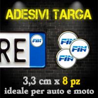 Adesivi Targa - Federazioni Sportive